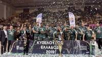 Κυπελλούχος στα Δυο Αοράκια ο Παναθηναικός, μπροστά σε 4.500 χιλιάδες μαθητές και αθλητές