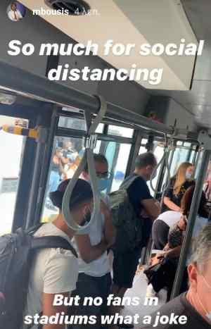 Ο Μπούσης, το λεωφορείο και το...ανέκδοτο!