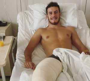 Ο Βαζ δεν χάνει το χαμόγελο του στο κρεββάτι του πόνου