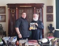 Στην Αίγυπτο ο Τσάλος-Συνάντηση με τον Πατριάρχη Αλεξανδρείας