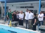 Λευτέρης Αυγενάκης: Επίσκεψη σε στάδιο, κολυμβητήριο και κλειστό του Λίντο-Τι ειπώθηκε