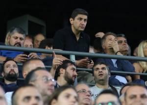 Τι απαντάει ο Αυγενάκης για την παρουσία φιλάθλων του Ολυμπιακού στο Γεντί Κουλέ